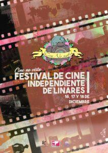 Cartel de la primera edición del Festival de Cine No Visto.