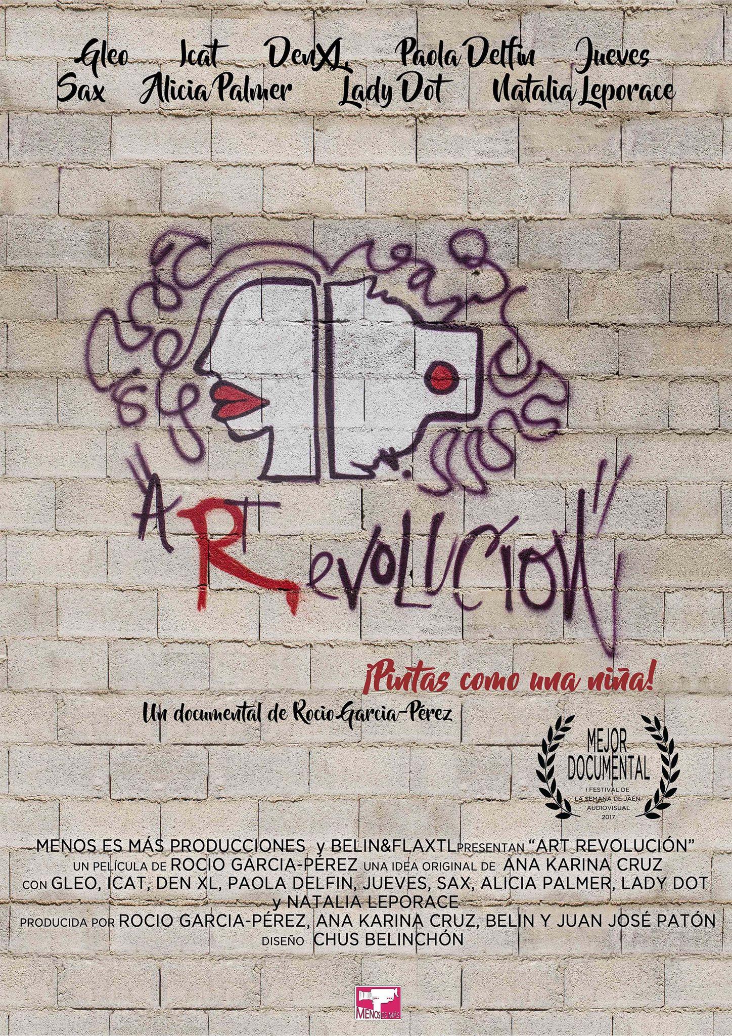 Documental sobre la discriminación de la mujer en el mundo del arte.