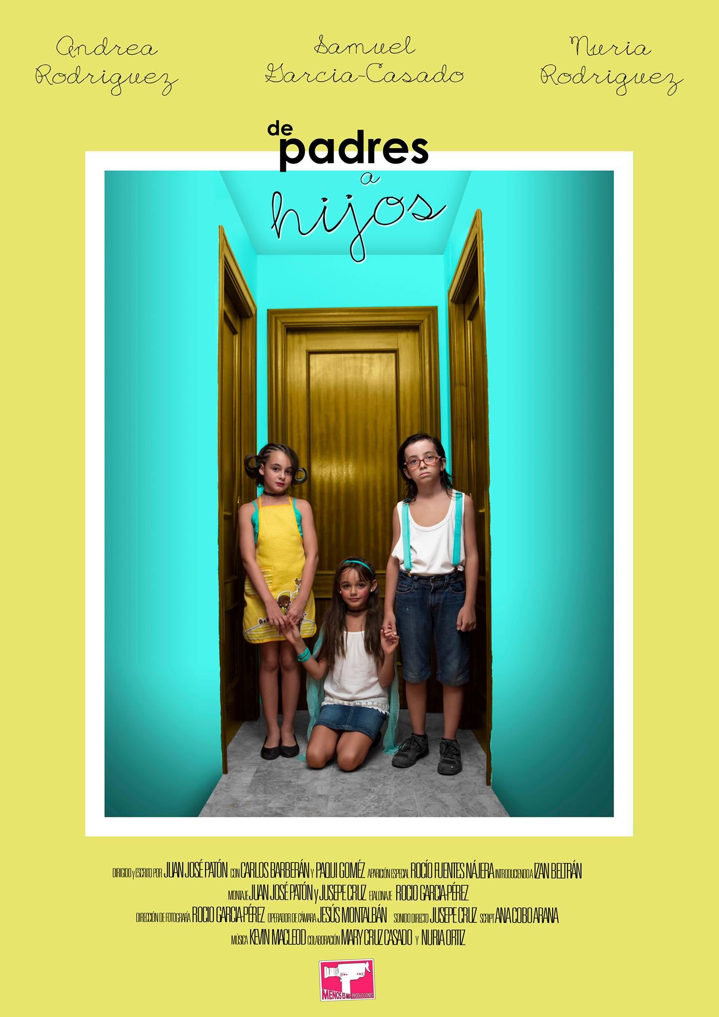 De Padres a hijos cortometraje ganador de premio RTVA
