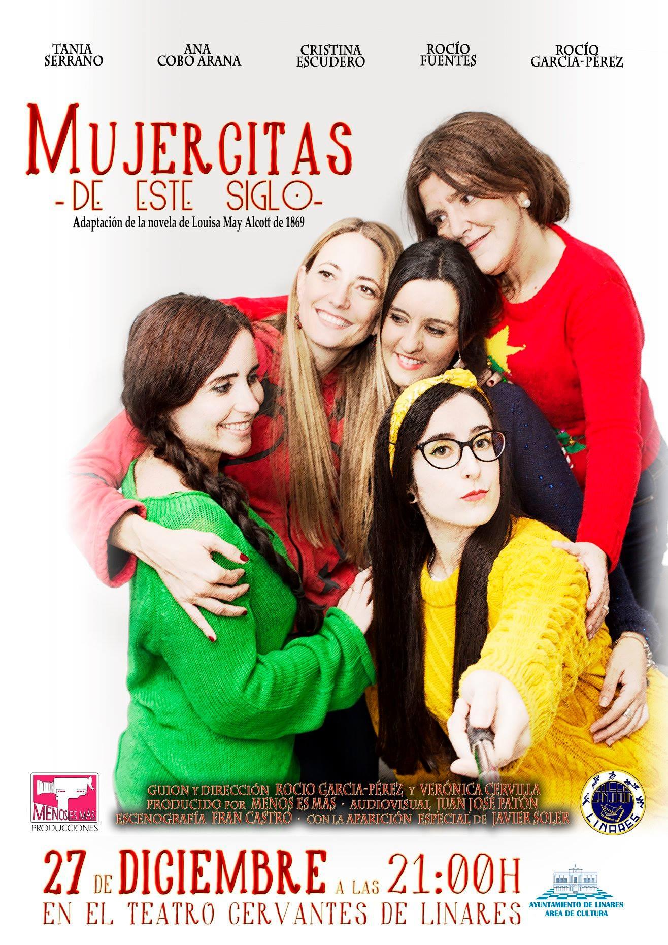 Mujercitas del siglo XXI. Nuestra obra de teatro disponible en contratación.